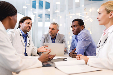 Image of a group of doctors