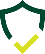 Shield with check icon