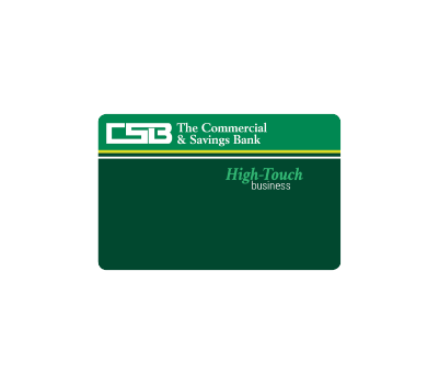 CSB High-Touch Business Credit Card Image